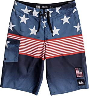 Quiksilver Boys' Big Division Independent Youth Boardshort Swim Trunk