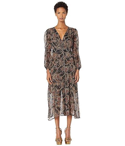 The Kooples Tanger Print Maxi Dress