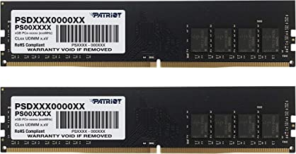 Patriot Signature Line 8GB (2 x 4GB) 288-Pin DDR4 PC4-19200 2400MHz Memory Module Kit PSD48G2400K