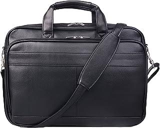 8c64174d76f4e Jack Chris® Men s PU Leather Briefcase Messenger Bag Laptop Bag