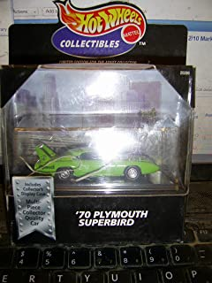 Hot Wheels Collectibles '70 Plymouth Superbird w/ Display Case