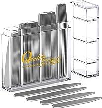 52 با کیفیت جامد فلزی متقاطع (اندازه های مختلف) در جعبه تقسیم شده است