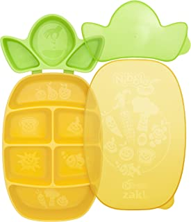 Dr. Sears Nibble Tray, Yellow/Green, 12 Months (Discontinued by Manufacturer)