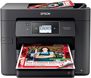 Epson WorkForce Pro WF-3730 All-in-One Wireless Color Printer with Copier, Scanner, Fax and Wi-Fi Direct,Black,10-1/2 x 7-...