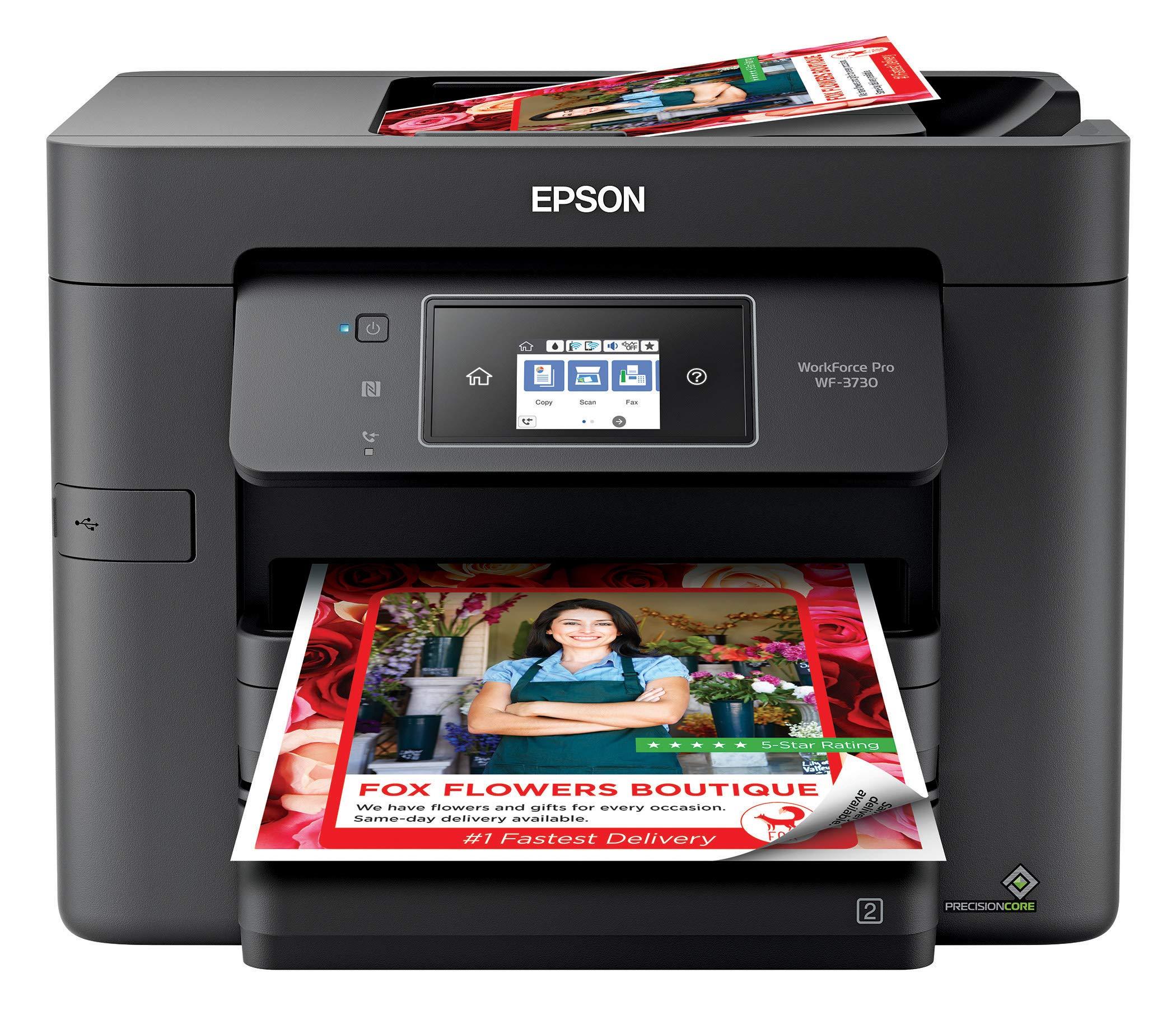 Epson Workforce WF 3730 Wireless Printer