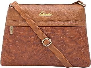 ESBEDA Women's Sling Bag (1747_Tan)
