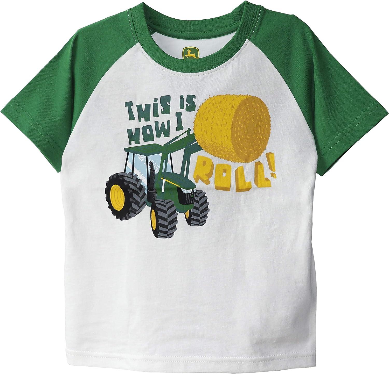 John Deere Boys' Short Sleeve Tee Shirt