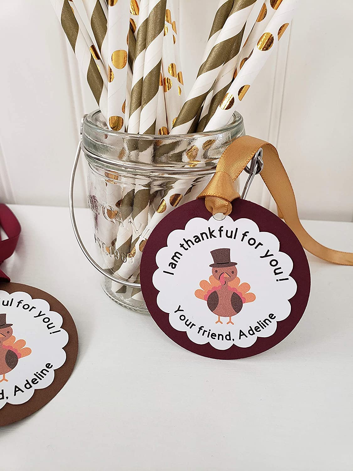Thanksgiving Turkey Gift Ranking TOP7 Sales Favor Thank Tags you