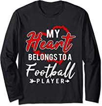my heart belongs to a football player shirt