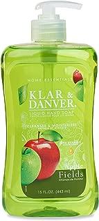 Klar & Danver Liquid Hand Soap APPLE FIELDS 15 oz