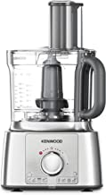 Kenwood MultiPro Express+ Food Processor, FDP65890SI, Colour Liquid Satin - All in 1 System Chopes, Grates, Slices, Dices,...