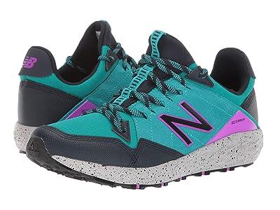 New Balance Kids Fresh Foam Crag v1 (Big Kid) (Neon Aqua Black/Eclipse/Voltage Violet) Girls Shoes