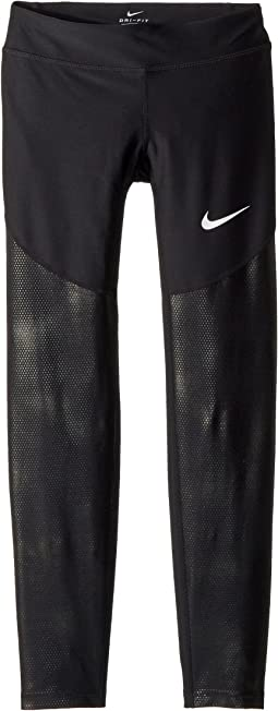 Dry Core Texture Training Tights  (Little Kids/Big Kids)