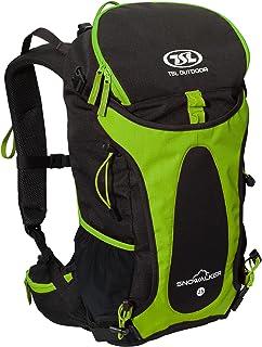 TSL ryggsäck snöalker, grön, 50 x 27 x 20 cm, 25 liter, PFSAS04