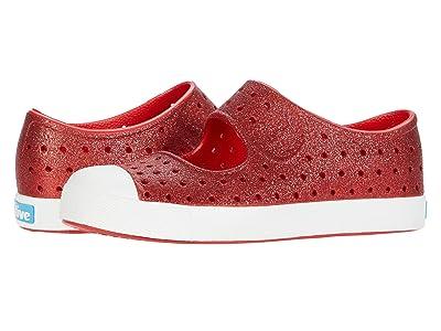 Native Kids Shoes Juniper Bling (Little Kid) (Torch Bling/Shell White) Girls Shoes