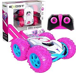 Silverlit- EXOST 360 Cross Rose Voiture télécommandée Tout-Terrain rose-360 Conduite sur 2 Faces-Franchis Les Obstacles Jo...