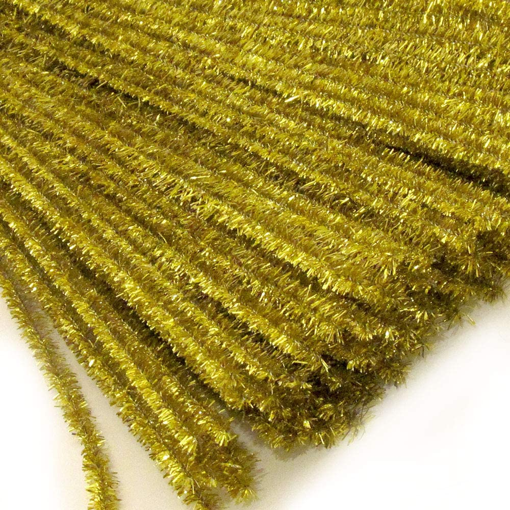 The Crafts Outlet Chenille Sparkly Stems Cleaner Same day shipping Limited Special Price 12-in Pipe 3