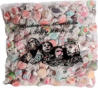 Rushmore Mountain Taffy Hand Made Kettle Fresh Salt Water Taffy (RushmoreTaffy-3lb-Assorted, 3 lb)