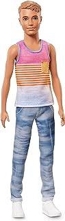 Barbie Ken Fashionistas Hyped Stripes Doll, Slim