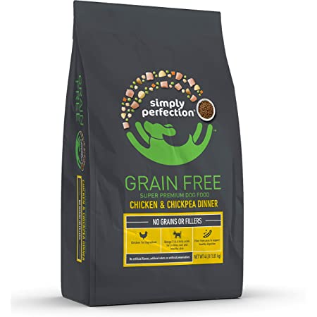 Simply Perfection Super Premium Chicken & Chickpea Dinner, Dry Dog Food