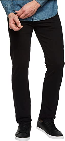 Tellis Modern Slim Leg SUD Sueded Stretch Sateen in Super Black