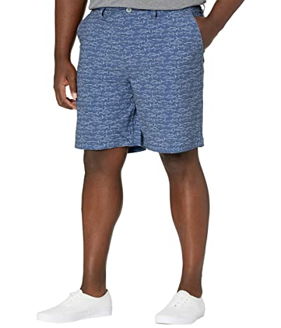 Southern Tide T3 Gulf Fish Print Shorts (Seven Seas Blue) Men