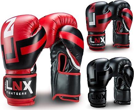 LNX Boxhandschuhe Performance Pro Leder - 10 12 14 16 oz - Ideal für Kickboxen Boxen Muay Thai MMA Kampfsport UVM B06XW4GXNF       Bekannt für seine gute Qualität