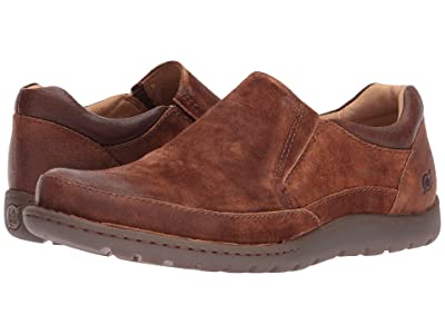 Born Nigel Slip-On (Rust/Brown Combo) Men