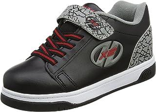 [ヒーリーズ] Dual Up Ankle-High Leather Fashion Sneaker