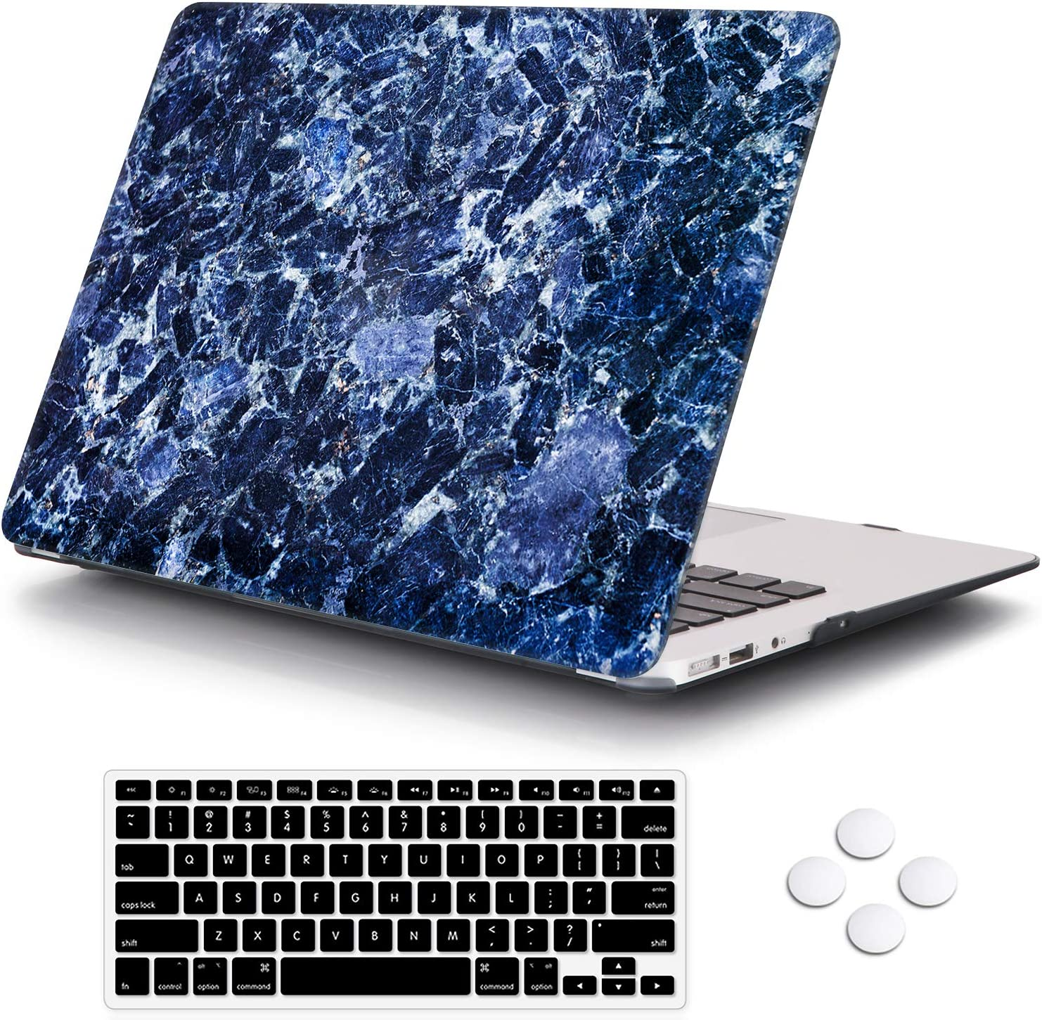 for MacBook Air 13 inch Popular Case Coated Thin Prot Ultra DQQH Max 44% OFF Rubber