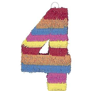 Amscan Pinatas Numbers 4 P16040