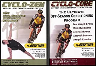 Bike/Cycling Conditioning Programs: Cyclo-Core/Cyclo-Zen (3 DVDs/5 Audio CDs)