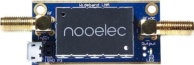 LaNA Barebones-RFおよびソフトウェア無線(SDR)用の超低ノイズアンプ(LNA)モジュール。 バイアスティーおよびUSB電源オプションを備えた広帯域および線形20MHz〜4000MHz周波数機能