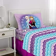 Disney Frozen Kids Bedding Soft Microfiber Sheet Set, Twin Size 3 Piece Pack