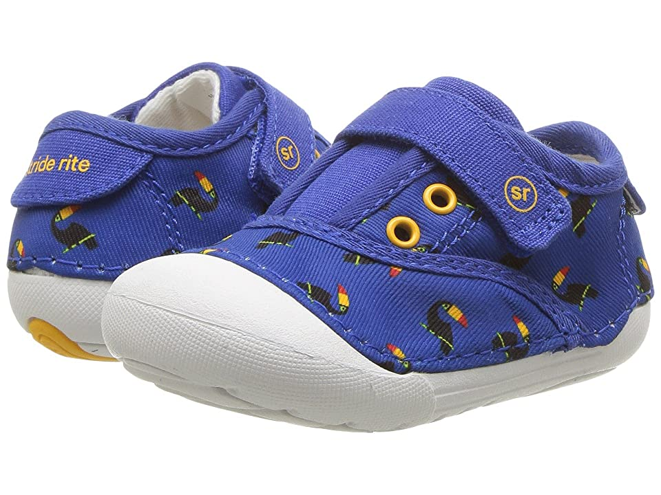 Stride Rite Soft Motion Avery (Infant/Toddler) (Blue Toucan) Kids Shoes