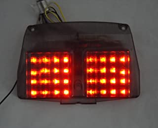 Motorcycle Tail Light Smoke LED Sequential Taillight with Integrated Turn Signal For DUCATI 998/996/916/748