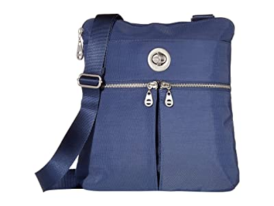 Baggallini International Madras RFID Crossbody Bag (Indigo Sky) Cross Body Handbags