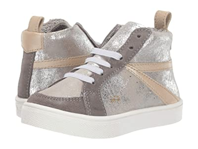 Freshly Picked Silver Metallic High Top (Toddler/Little Kid) (Silver/Gray/Platinum) Kid