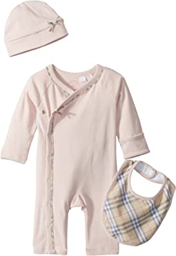 Burberry Kids - Kallie Check Branded Set (Infant)