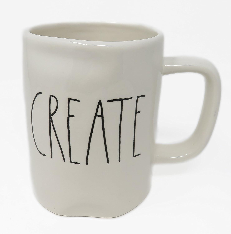 Rae Dunn Classic Font Tasse à café Create