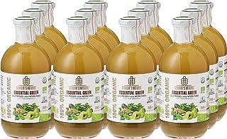 Georgia's Natural100% Organic Cold Pressed Essential Green Juice, 750 ml x 12