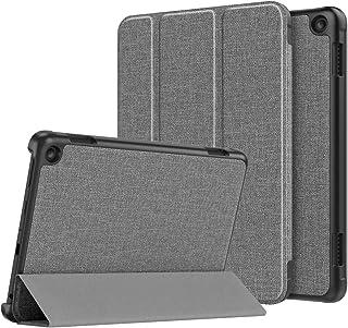 ATiC New Fire HD 8 2020 ケース Fire HD 8 / Fire HD 8 Plus カバー 2020発売 第10世代 オートスリープ機能 軽量 薄型 三つ折りスタンド PUレザー 裏地マイクロファイバー 耐衝撃 傷防止...
