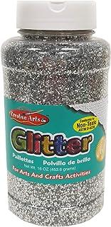 Creative Arts by Charles Leonard Glitter, 16 Ounce Bottle, Silver (41145)