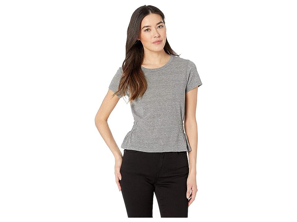 Alternative The Simone Shirred Tee (Eco Grey) Women