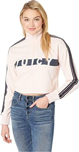 Juicy Racer Terry Pullover
