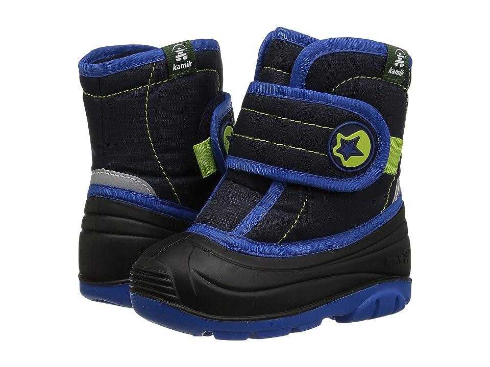 Kamik Kids Snugglebug (Toddler) (Navy) Boys Shoes