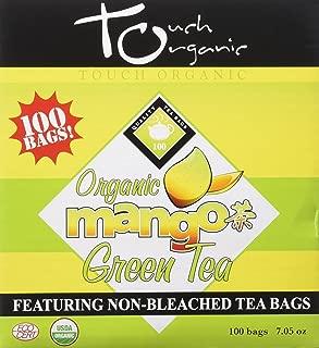 Touch Organic Mango Green Tea Cube, 100 Count, 7.05-ounces