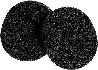 Rosenice Pair of Replacement Foam Earpads Ear Pads Ear Cushions for Logitech H800 Wireless Headphones Headset (Black)