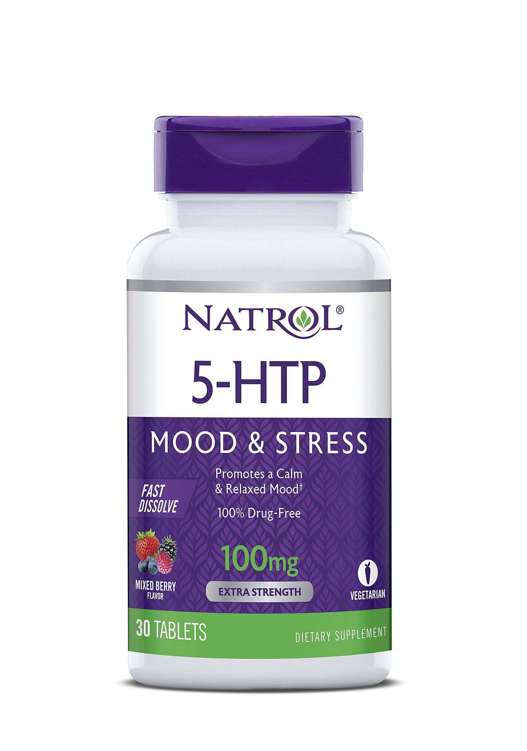 Natrol 5 HTP Dissolve Tablets Flavor