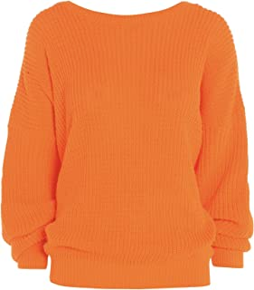 Women's Oversized Baggy Chunky Knitted Jumper Pullover